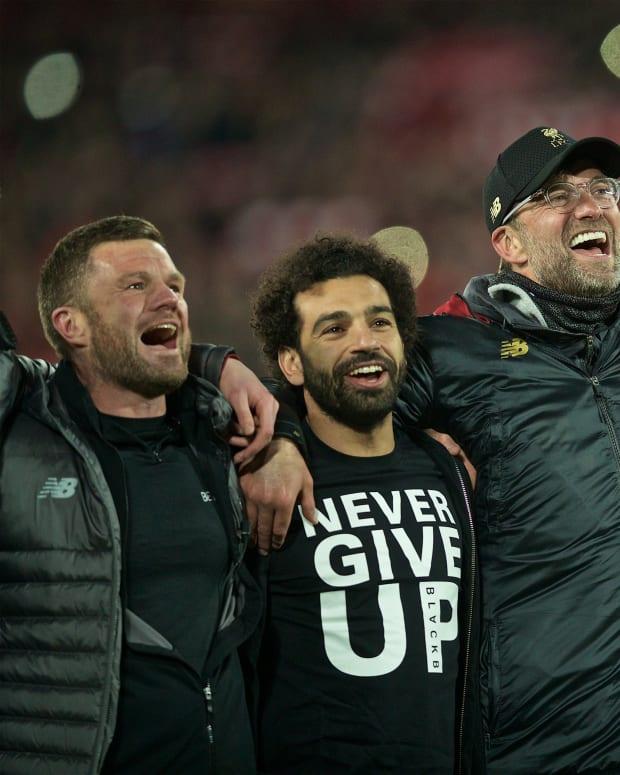 Barcelona Jurgen Klopp Virgil van Dijk Mohamed Salah