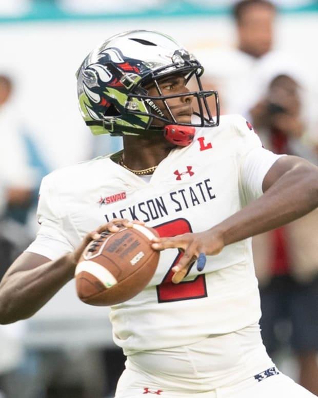Jackson State freshman quarterback Shedeur Sanders