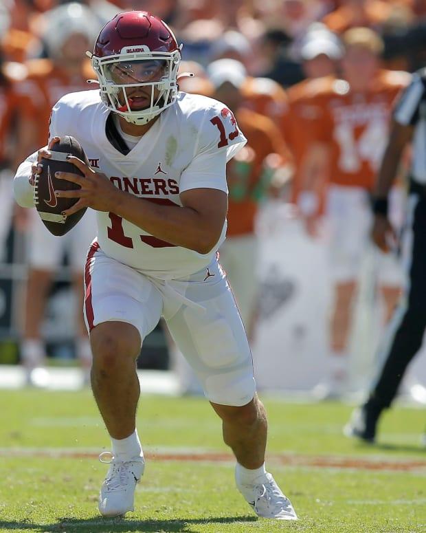 Caleb Williams - Texas run 2