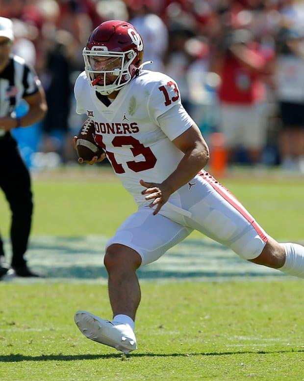 Caleb Williams - Texas run