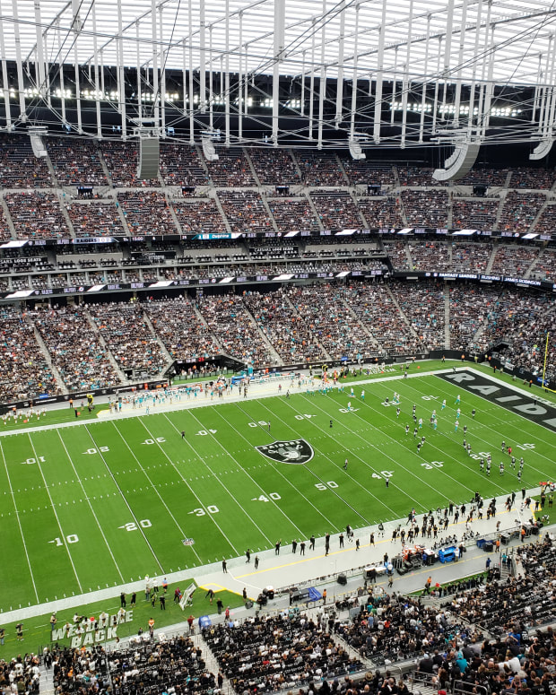Allegiant Stadium October 10, 2021