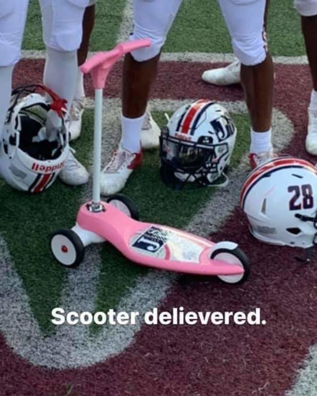 Delivered Maynor Scooter