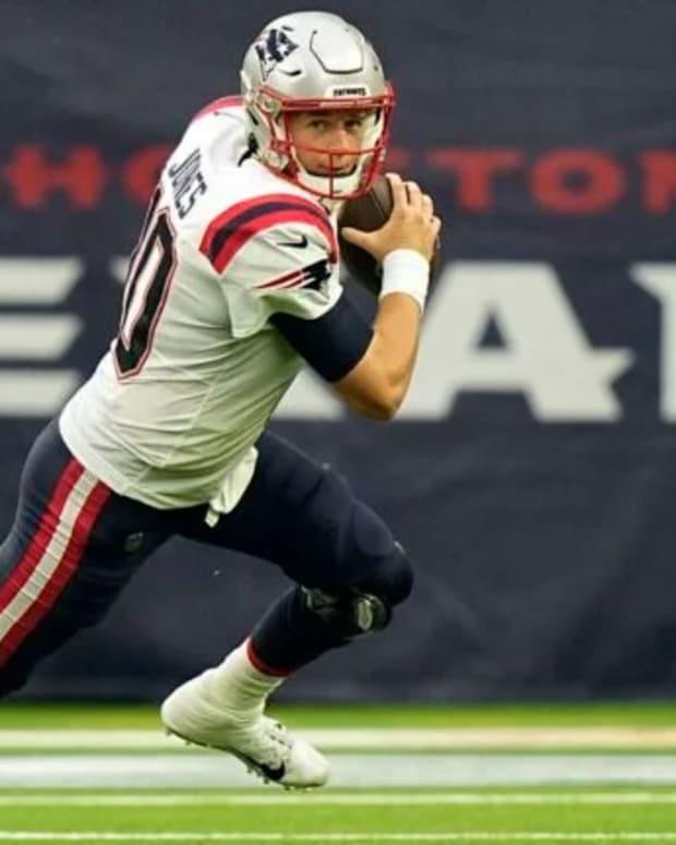 Patriots QB Mac Jones