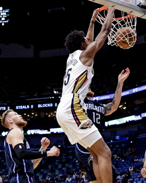 Trey Murphy New Orleans Pelicans