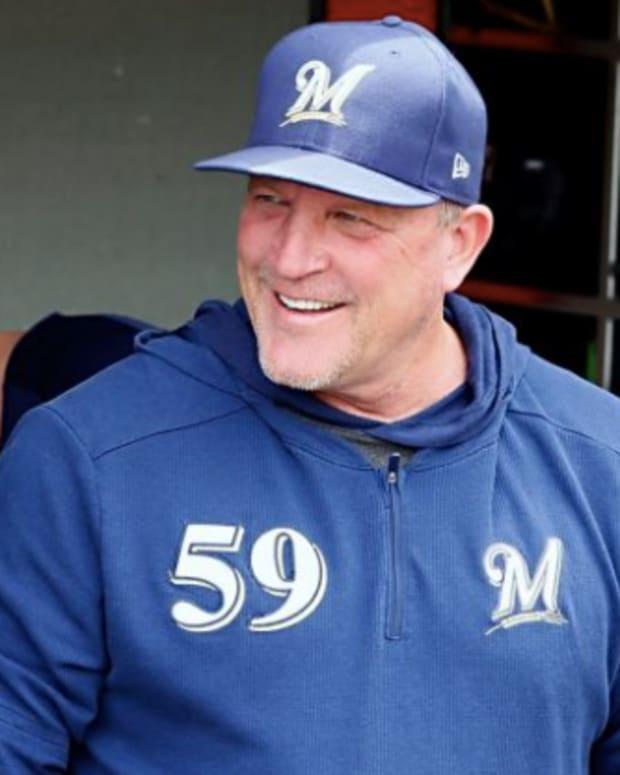 Milwaukee Brewers bench coach Pat Murphy.