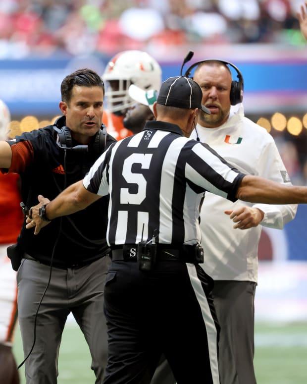 Manny Diaz Miami versus Alabama