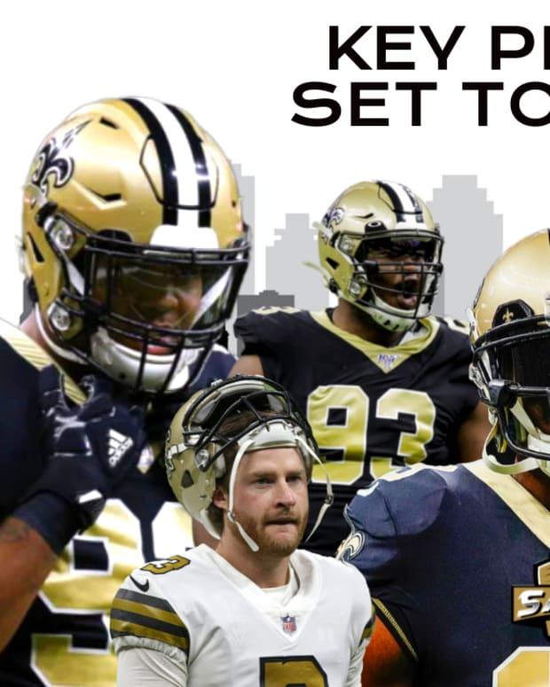 Saints Key Players Return