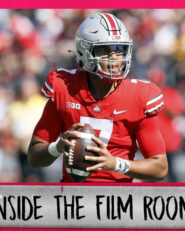 inside the film room (offense-Maryland)