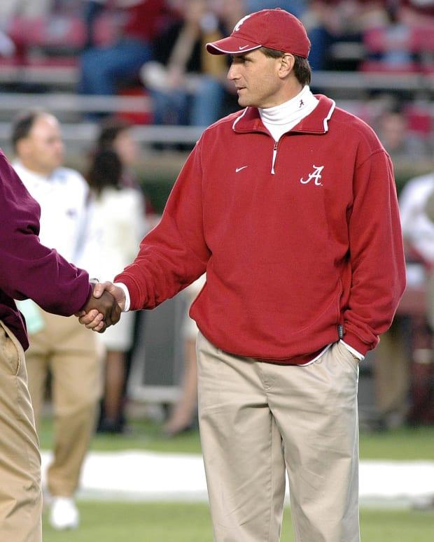 Sylvester Croom and Mike Shula, 2005