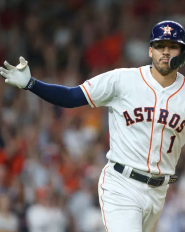 Carlos Correa could be a target for the Mets in free agency.