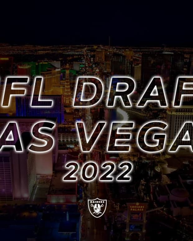2022 NFL Draft logo (Raiders)