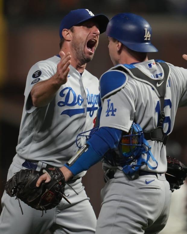DodgersMaxScherzerClinch