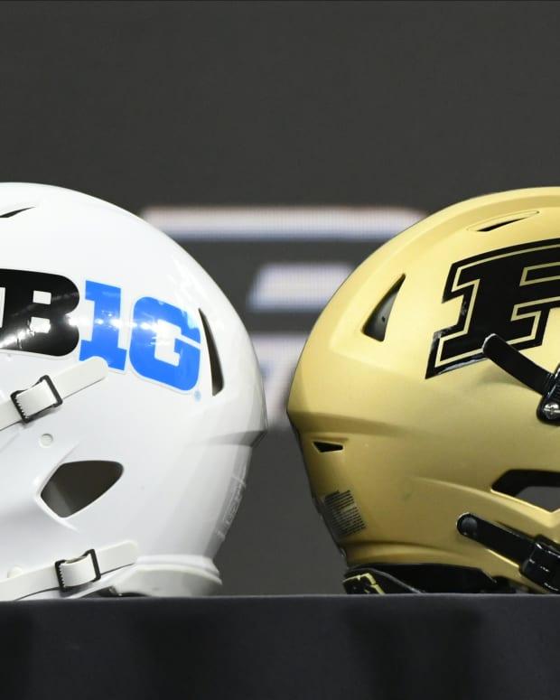 Purdue big ten helmet