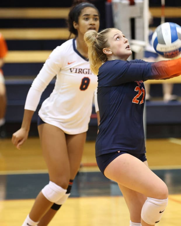 Kristen Leland Virginia Cavaliers volleyball