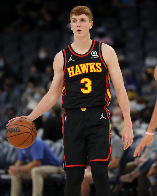 Atlanta Hawks guard Kevin Huerter is eligible for contract extension.