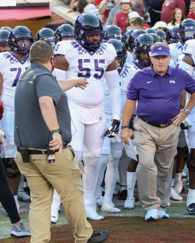 Gary Patterson and Players