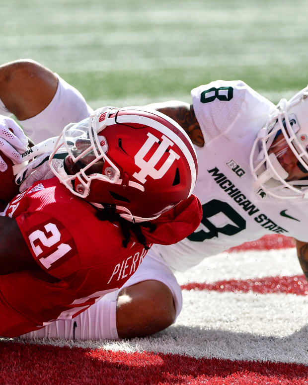 Indiana corner Noah Pierre has electric performance against Michigan State.