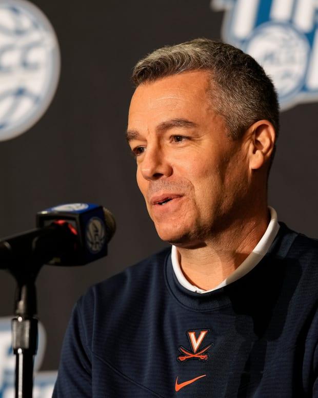 Tony Bennett Virginia Cavaliers men's basketball