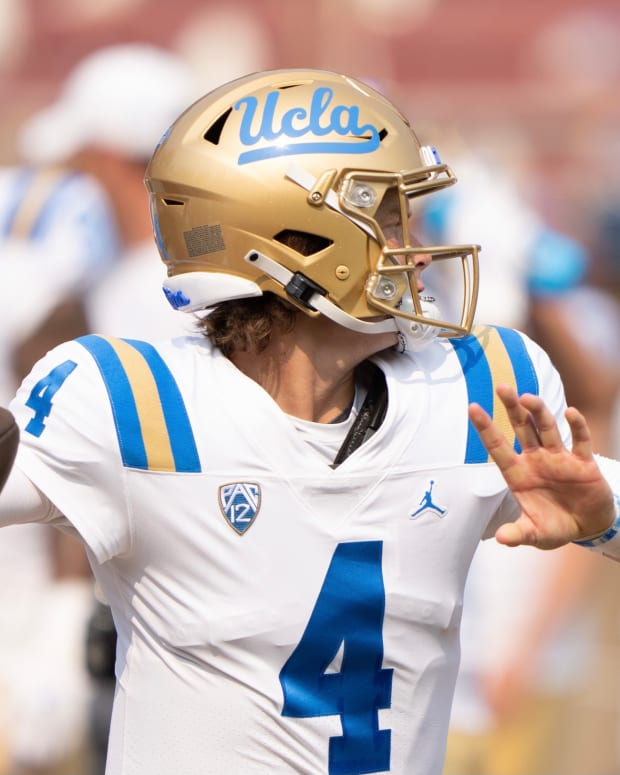 Ethan Garbers, formerly of the UW, is the UCLA backup.