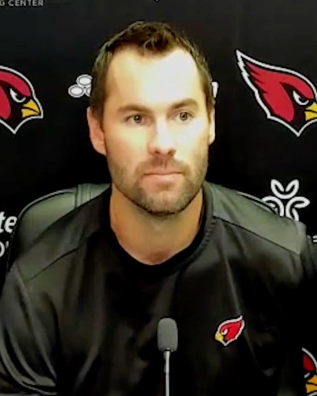 Screen shot from Arizona Cardinals press conference