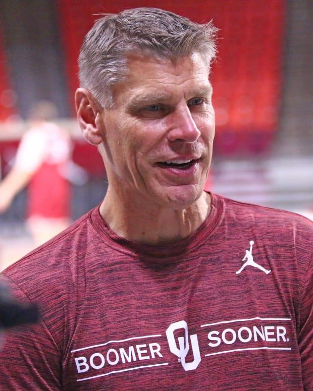 Porter Moser closeup