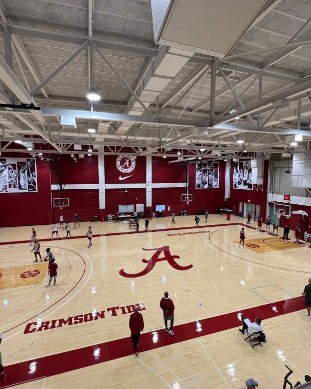 Alabama basketball practice, Oct. 19, 2021