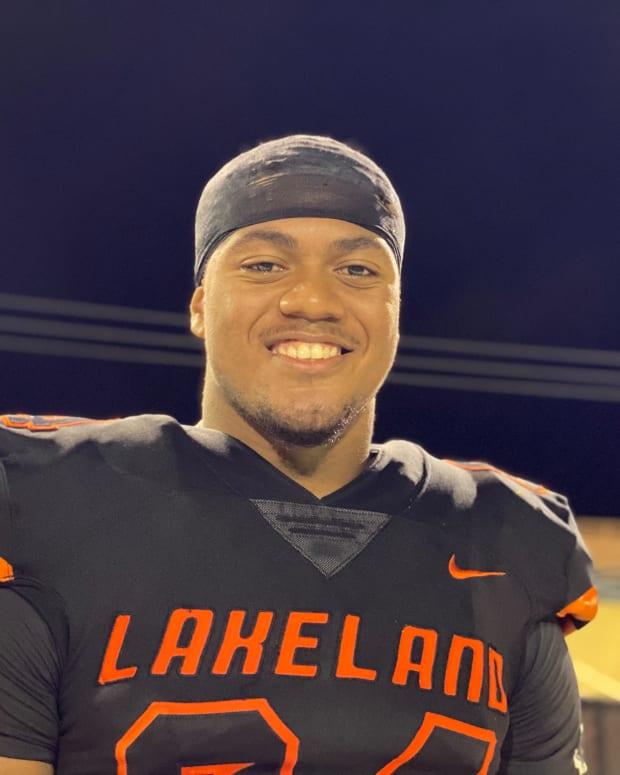 Keahnist Thompson, Defensive End, Lakeland High School - UCF Commitment