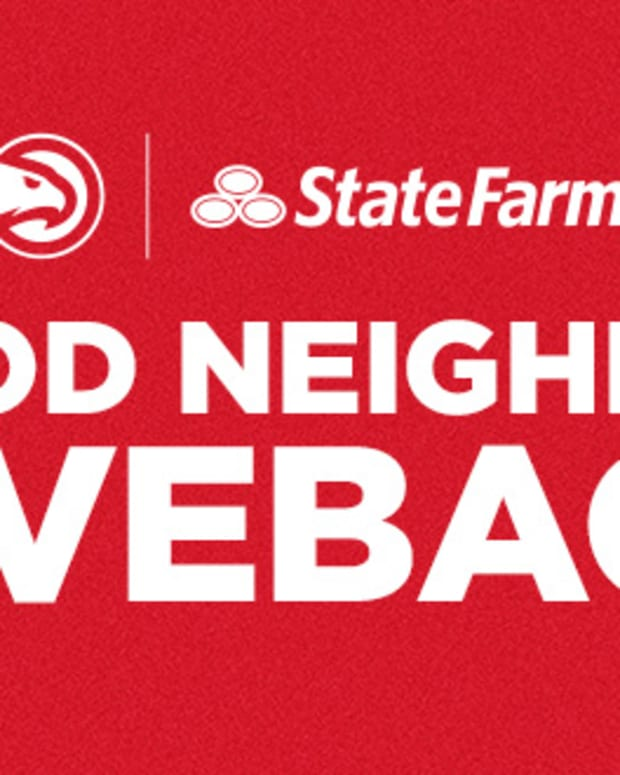 The Atlanta Hawks are teaming up with State Farm for 'Good Neighbor Giveback' Campaign in 2021-22 NBA Season.