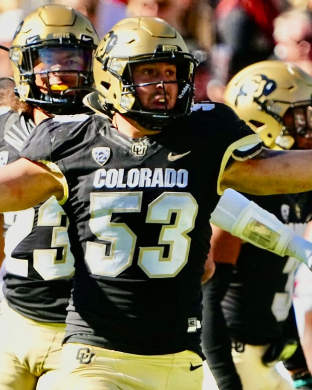 Colorado star linebacker Nate Landman