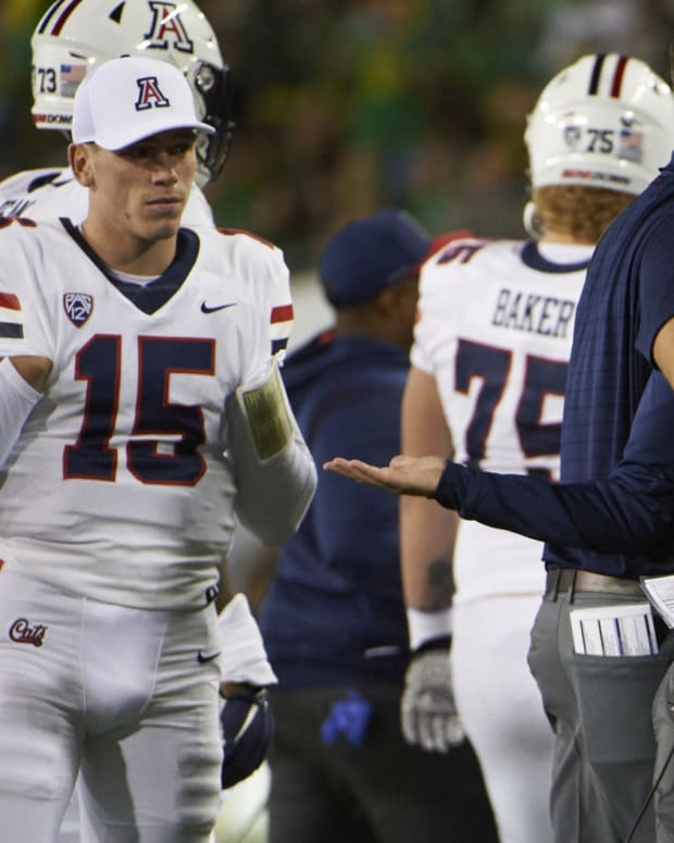 New Arizona coach Jedd Fisch is 0-6, trying to end an 18-game losing streak.