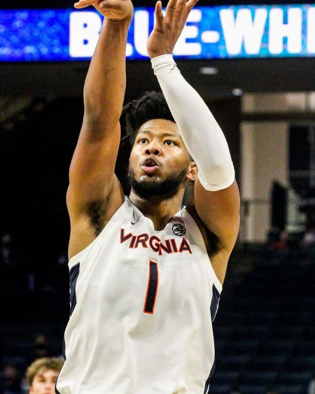 Jayden Gardner Virginia Cavaliers men's basketball