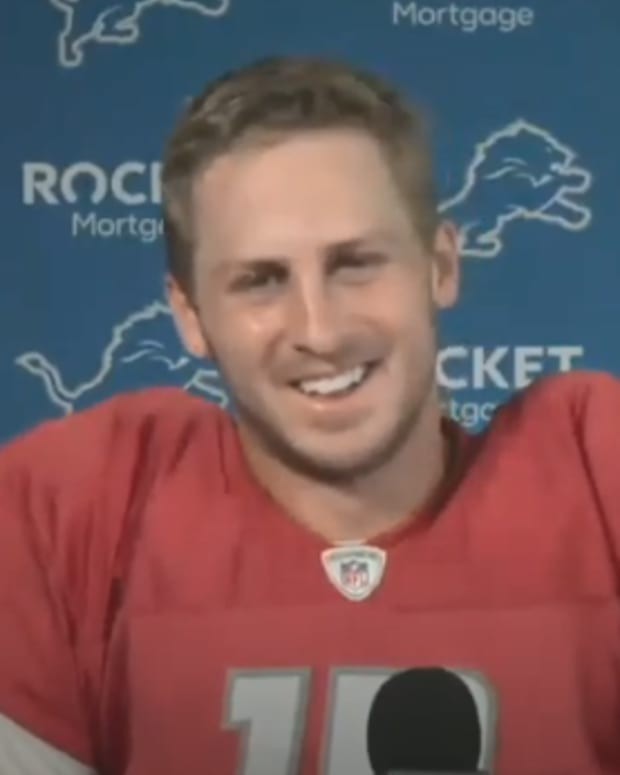 Jared Goff press conference