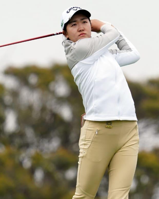Stanford's Rose Zhang.