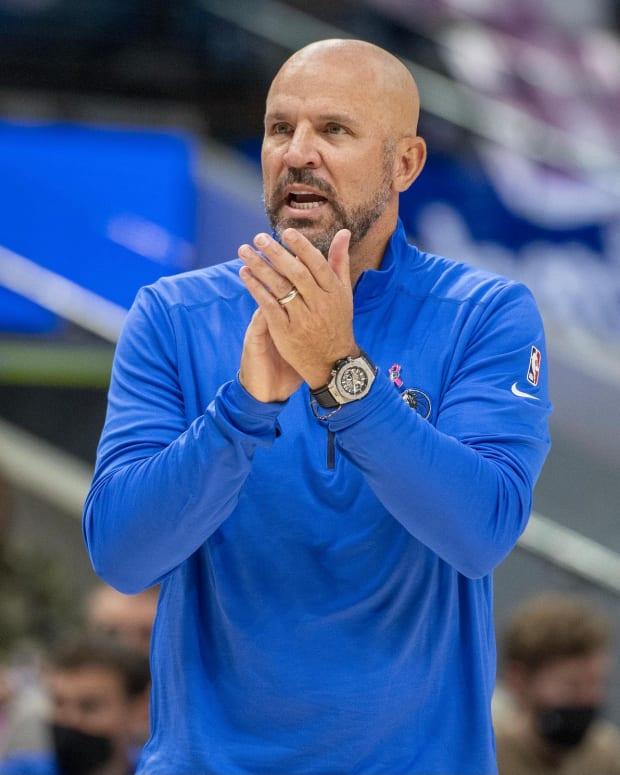 Mavericks coach Jason Kidd