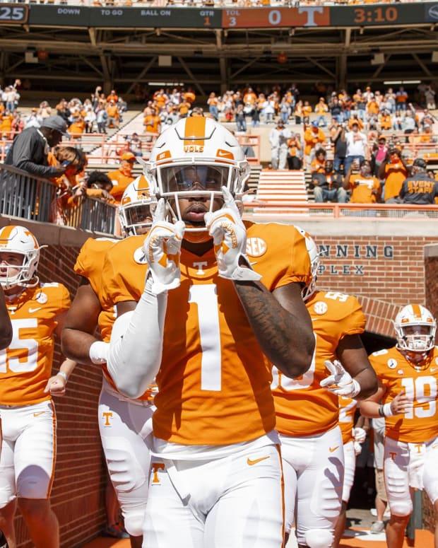 Tennessee safety Trevon Flowers