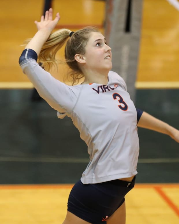 Abby Tadder Virginia Cavaliers volleyball