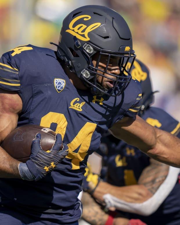Cal running back Christopher Brooks