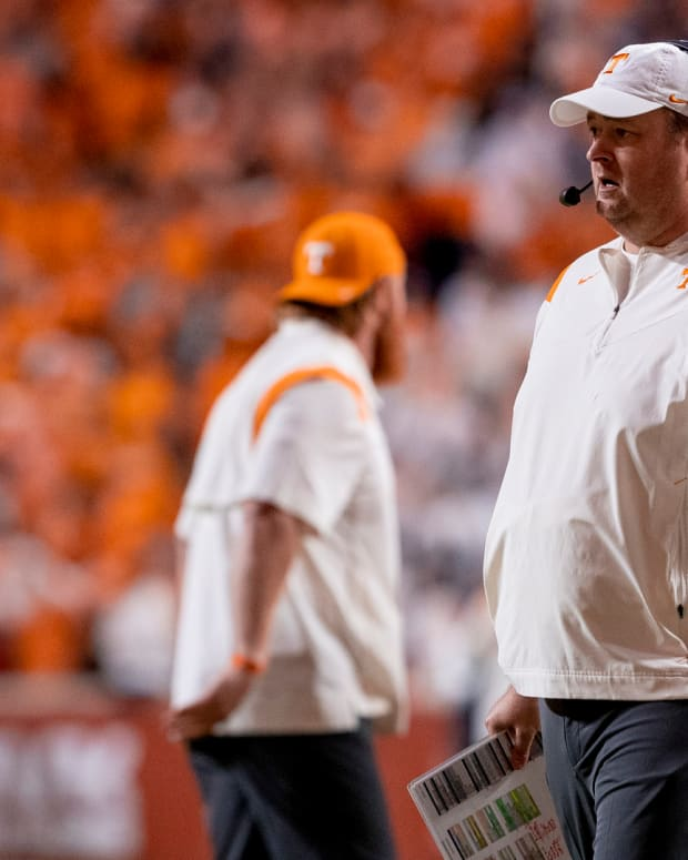 Tennessee coach Josh Heupel