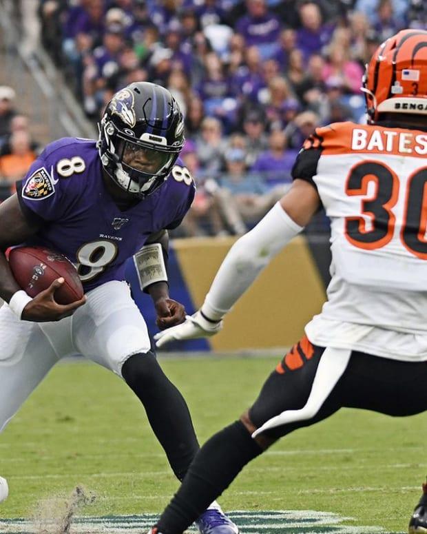 Cincinnati Bengals @ Baltimore Ravens