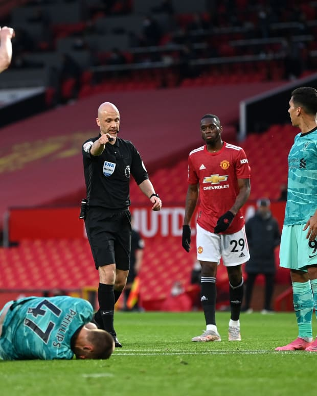 Anthony Taylor Referee Manchester United