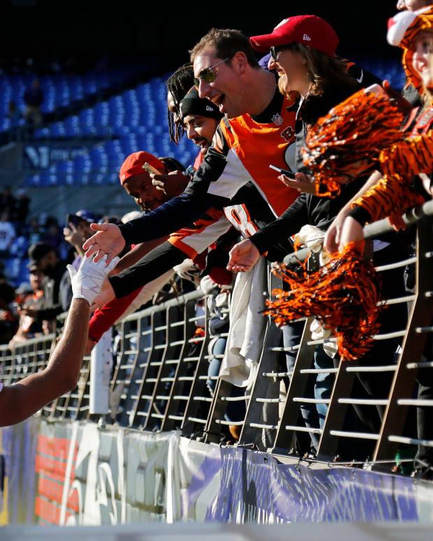 C.J. Uzomah, Cincinnati Bengals fans