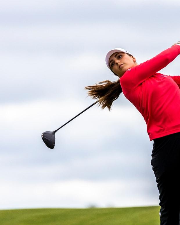 Alabama women's golfer Bendetta Moresco