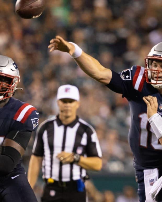 Mac Jones, New England Patriots quarterback