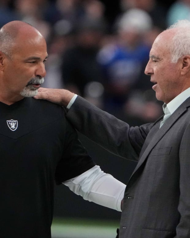 Jeffrey Lurie and Rich Bisaccia