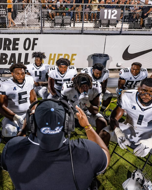 UCF Defensive Line Space Game