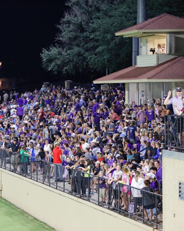 TCU hosts Kansas State with the fourth largest crowd in program history watching