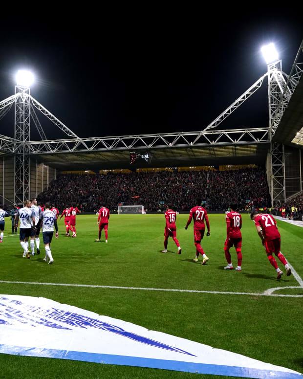 Liverpool Preston North End