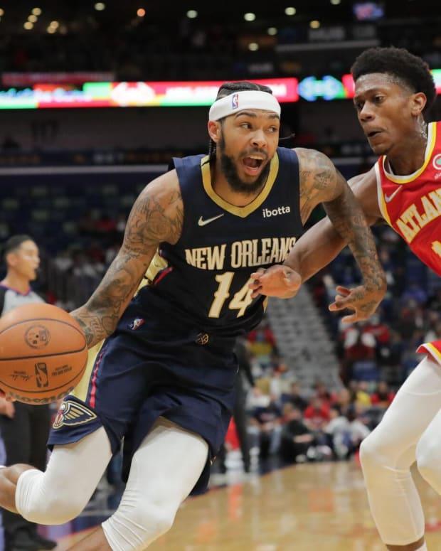 De'Andre Hunter Atlanta Hawks, Brandon Ingram New Orleans Pelicans