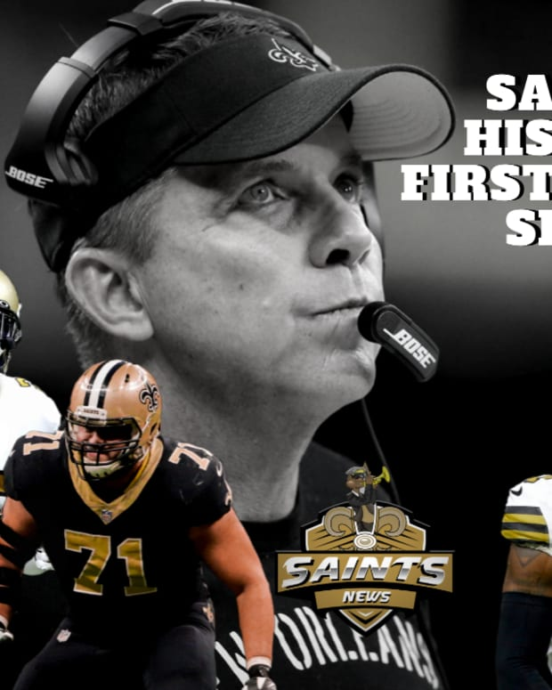 Saints Draft History in First Round Under Sean Payton
