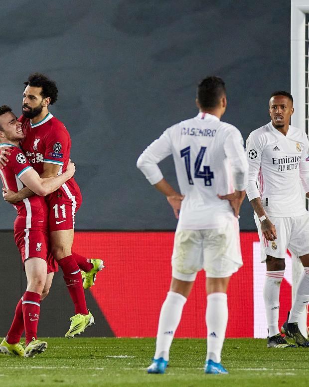 Salah goal Madrid